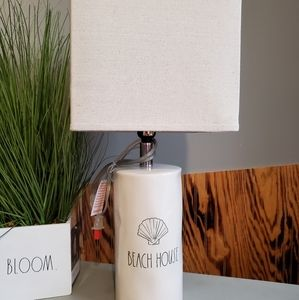 Rae Dunn Beach House lamp NWT